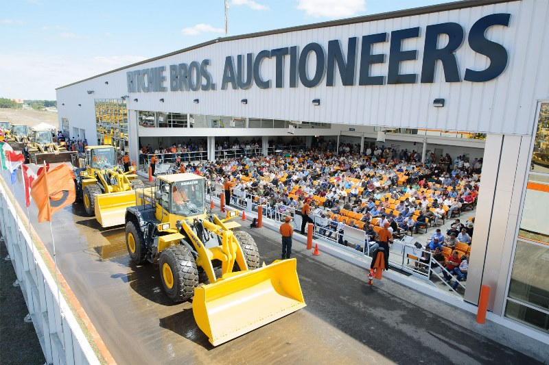 RITCHIE BROS. AUCTIONEERS - Heavy equipment auction