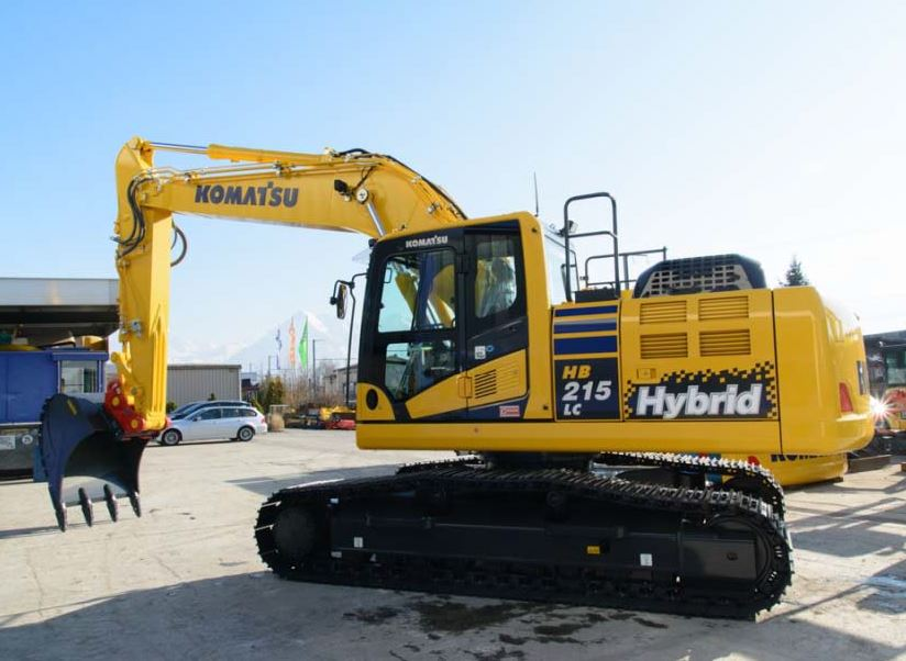 New-HB215LC-2-Hybrid-Hydraulic-Excavator-from-Komatsu